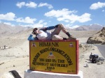 you are on the highest motorable road
